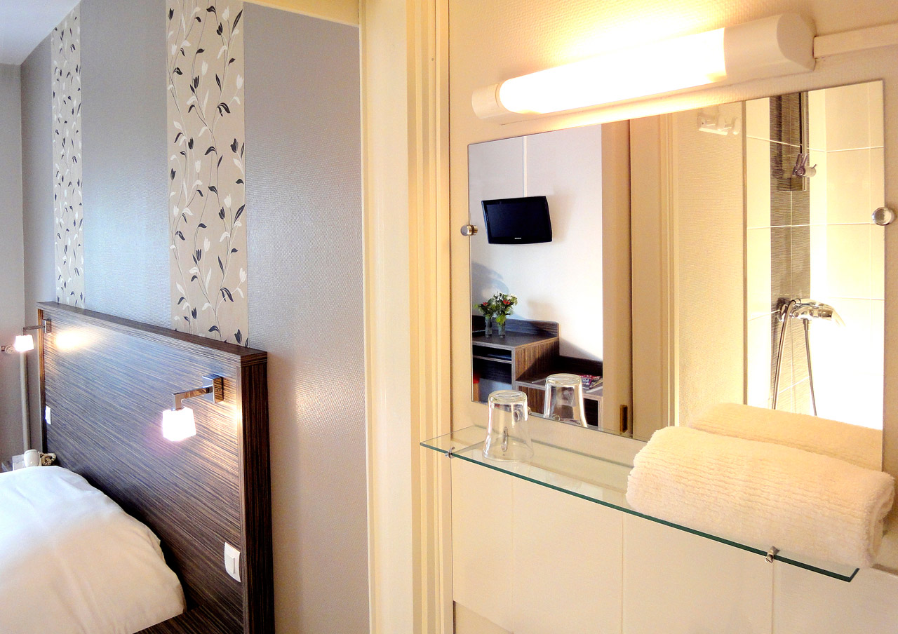 Chambre Double Eco 2 pers. - Hotel Lorient